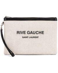 Saint Laurent - Monogramme Pouch - Lyst