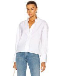 Loulou Studio Pulau Shirt - White