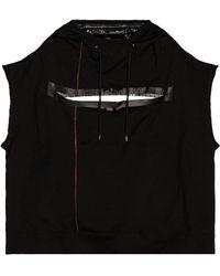 TAKAHIROMIYASHITA TheSoloist. Sleeveless Monster Sweatshirt - Black