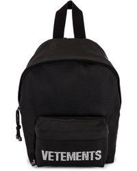 Vetements Strass Backpack - Black