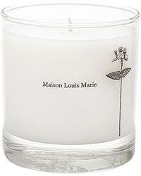 Maison Louis Marie Antidris Cassis Candle - White