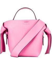 Acne Studios Mini Bucket Bag - Pink