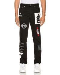 Givenchy Patch Jeans - Black