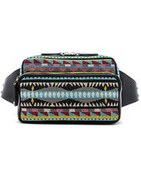 Valentino - Embroidered Waist Bag - Lyst