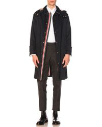 Thom Browne - Snap Front Mackintosh - Lyst