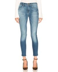 FRAME - Le High Skinny Double Needle - Lyst