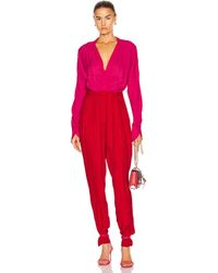 Equipment Zephrina Jumpsuit By - Red