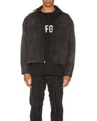 Fear Of God Canvas Work Jacket - Black