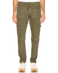 Greg Lauren - Denim Long Cargo Pant - Lyst