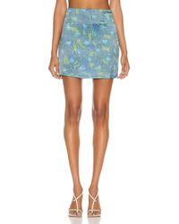 Maisie Wilen Dial Up Skirt - Blue
