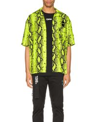 Off-White c/o Virgil Abloh Snake Holiday Shirt - Mehrfarbig