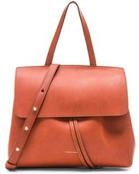 Mansur Gavriel Mini Lady Bag - Red