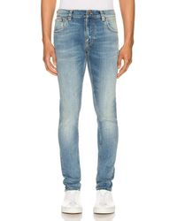 Nudie Jeans Tight Terry - Blue