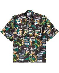Givenchy Loose Fit Printed Shirt - Green