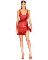 David Koma - For Fwrd Mini Tank Dress - Lyst