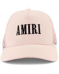 Amiri Core Trucker Hat - Pink