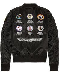 Alpha Industries L-2b Apollo Ii Fight Jacket - Black
