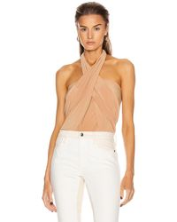 Norma Kamali All In One Bodysuit - Natural