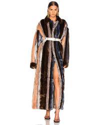 Y. Project - Faux Fur Coat - Lyst