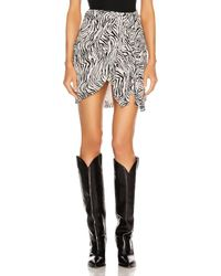 Isabel Marant Ixori Skirt - Black