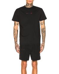 aee6d1691 Alexander Wang Lightning Collage Short Sleeve Tee in Black for Men ...
