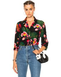 Valentino - Tropical Dream Blouse - Lyst