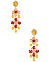 Christie Nicolaides Julietta Earrings - Yellow