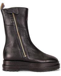 Reike Nen Platform Zip-up Boot - Black