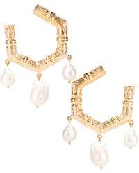 Christie Nicolaides Lareina Earrings - Metallic