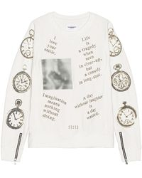 TAKAHIROMIYASHITA TheSoloist. Crewneck Sweatshirt - White
