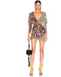 The Attico Mini Pat Dress - Multicolor