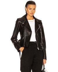 Helmut Lang Biker Leather Jacket - Black