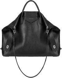 Givenchy Large Antigona Soft Bag - Black