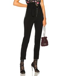 Francesco Scognamiglio - High Waisted Belted Pants - Lyst