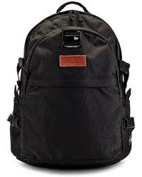 Yohji Yamamoto Logo Carrier Backpack - Black