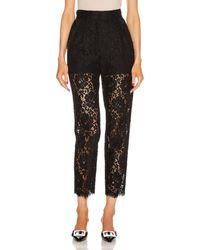 Dolce & Gabbana Skinny Pant - Black