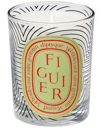 Diptyque Dancing Ovals Figuier Candle - Metallic