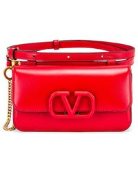 Valentino VSling Belt Bag - Rot