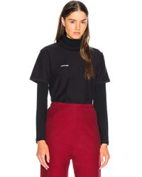 Vetements - Fitted Inside Out Tee - Lyst