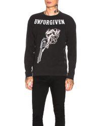 Warren Lotas Printed Sweatshirt - Black