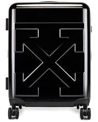 Off-White c/o Virgil Abloh Arrow Trolley Luggage - Black