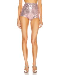 Dolce & Gabbana High Waisted Hot Short - Mehrfarbig