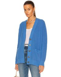 RE/DONE 90's Oversized Cardigan - Blue