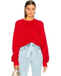 Mara Hoffman - Avery Jumper In Red - Lyst