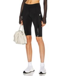 Off-White c/o Virgil Abloh Cycling Short - Black