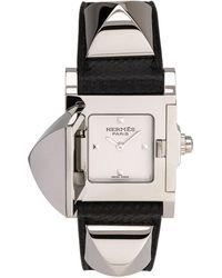 Hermès Medor pm - Schwarz