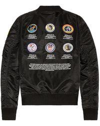 Alpha Industries L-2B Apollo II Fight Jacket - Schwarz
