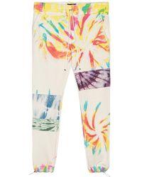 Amiri Tie Dye Art Patch Sweatpant - Multicolour
