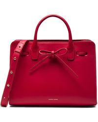 Mansur Gavriel Mini Sun Bag - Red