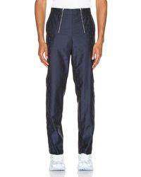 GmbH Talc Jacquard Trouser - Blau